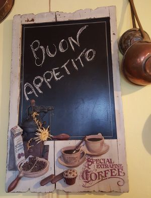 menu italie
