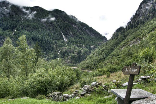 région d'antrona, italie