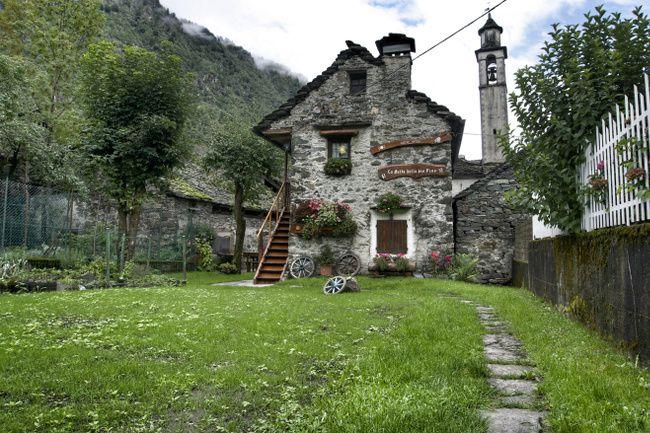 maison typique italienne