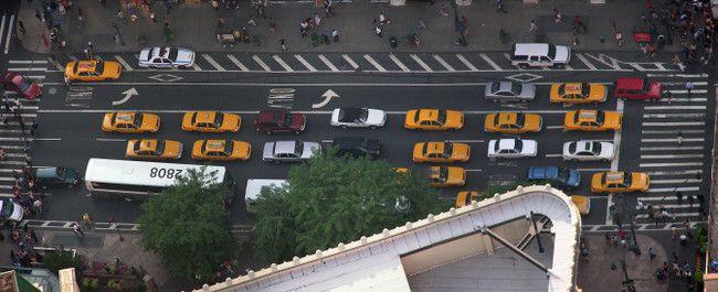 taxi jaune new york