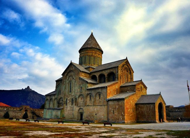 Svetitskhoveli, géorgie