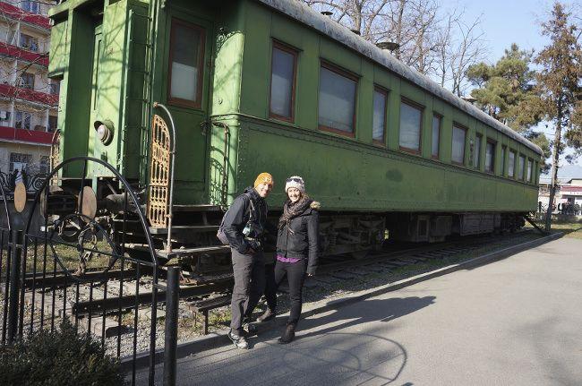 wagon de train, staline