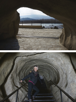cité troglodyte, tunnel