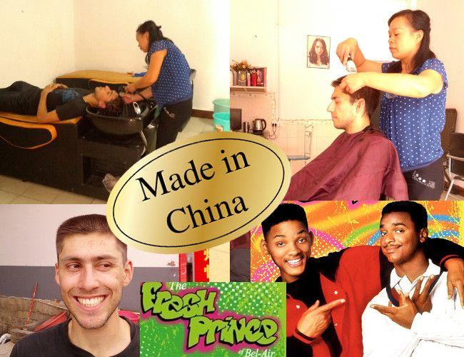 Chez le coiffeur en Chine