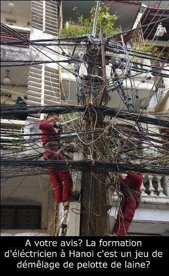le système ´léctrique de Hanoi