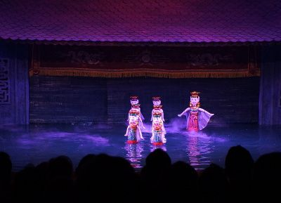 marionnettes aquatiques de Hanoi