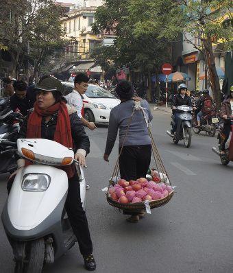 vendeuse de rue