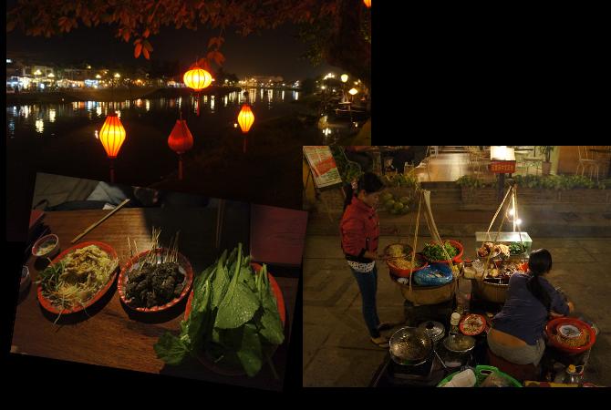 La nourriture de rue en Asie