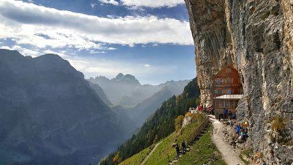 Randonnée En Suisse: Aescher