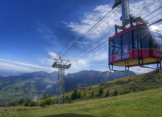 télécabine suisse en appenzell
