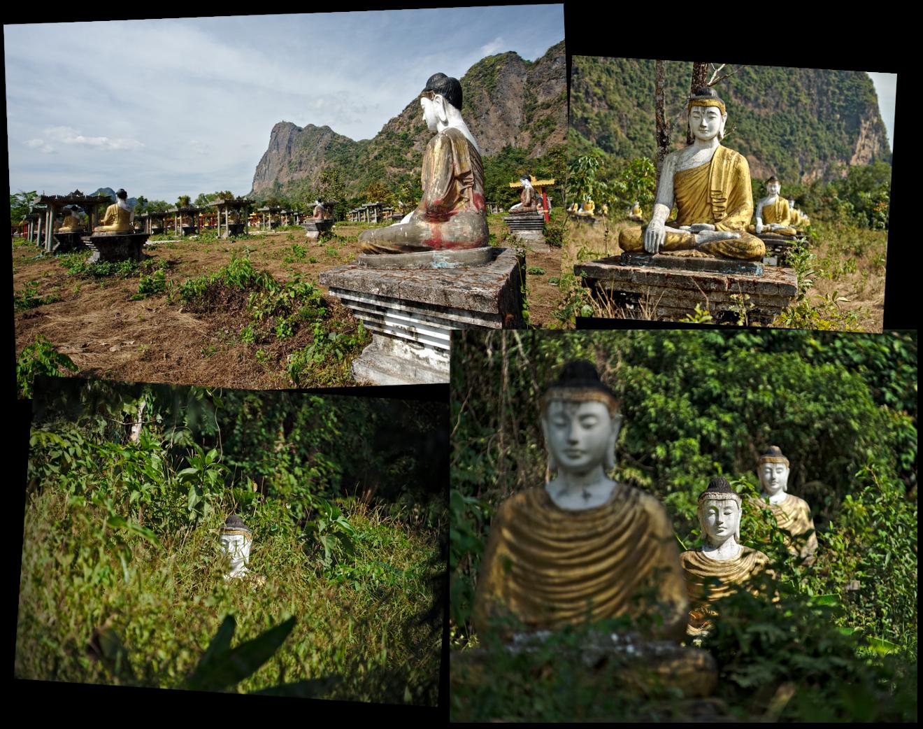 lumbini garden, myanmar