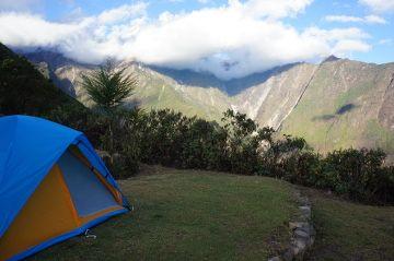 camping au perou