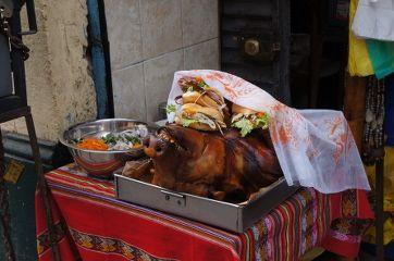 cochon au marché