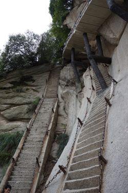 escaliers Huashan