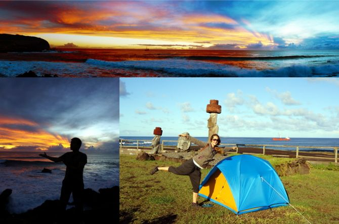 camping easter island