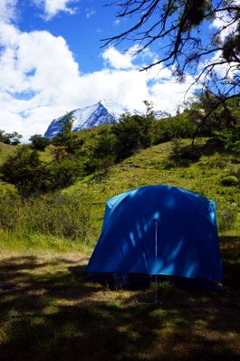camping torres del paine