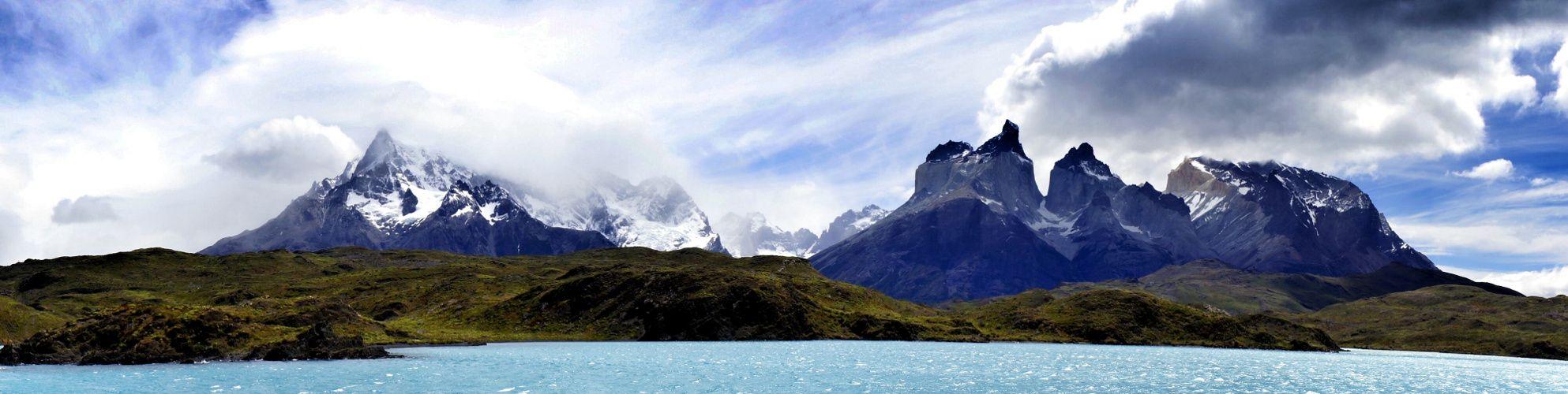 Massif Paine depuis le Catamaran