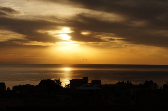 sunset copacabana