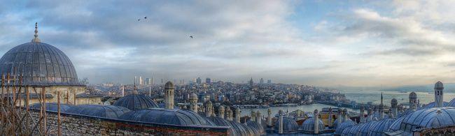 la vue sur istanbul