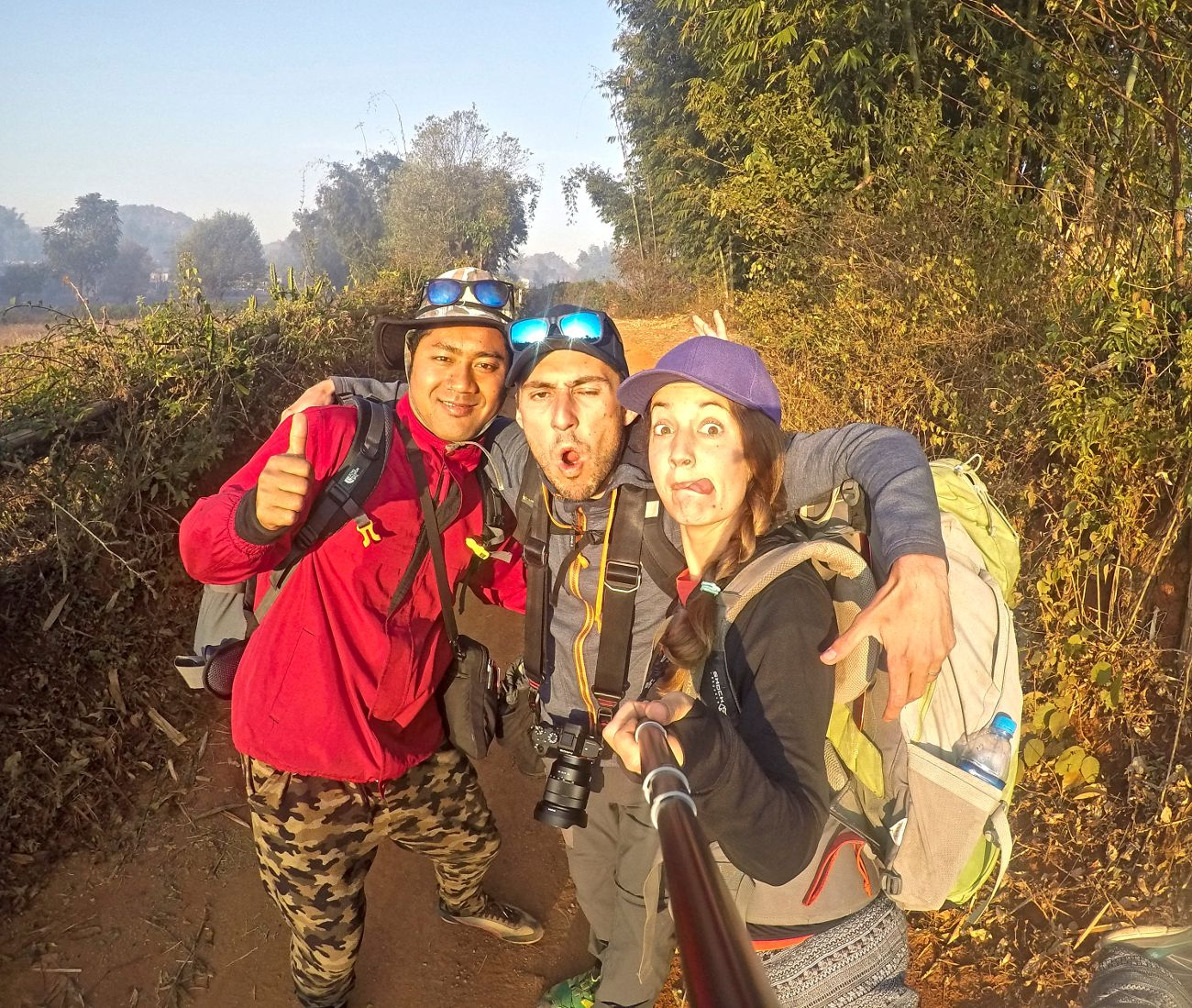 guide trekking kalaw inle