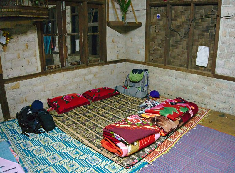 homestay chez l'habitants en Birmanie