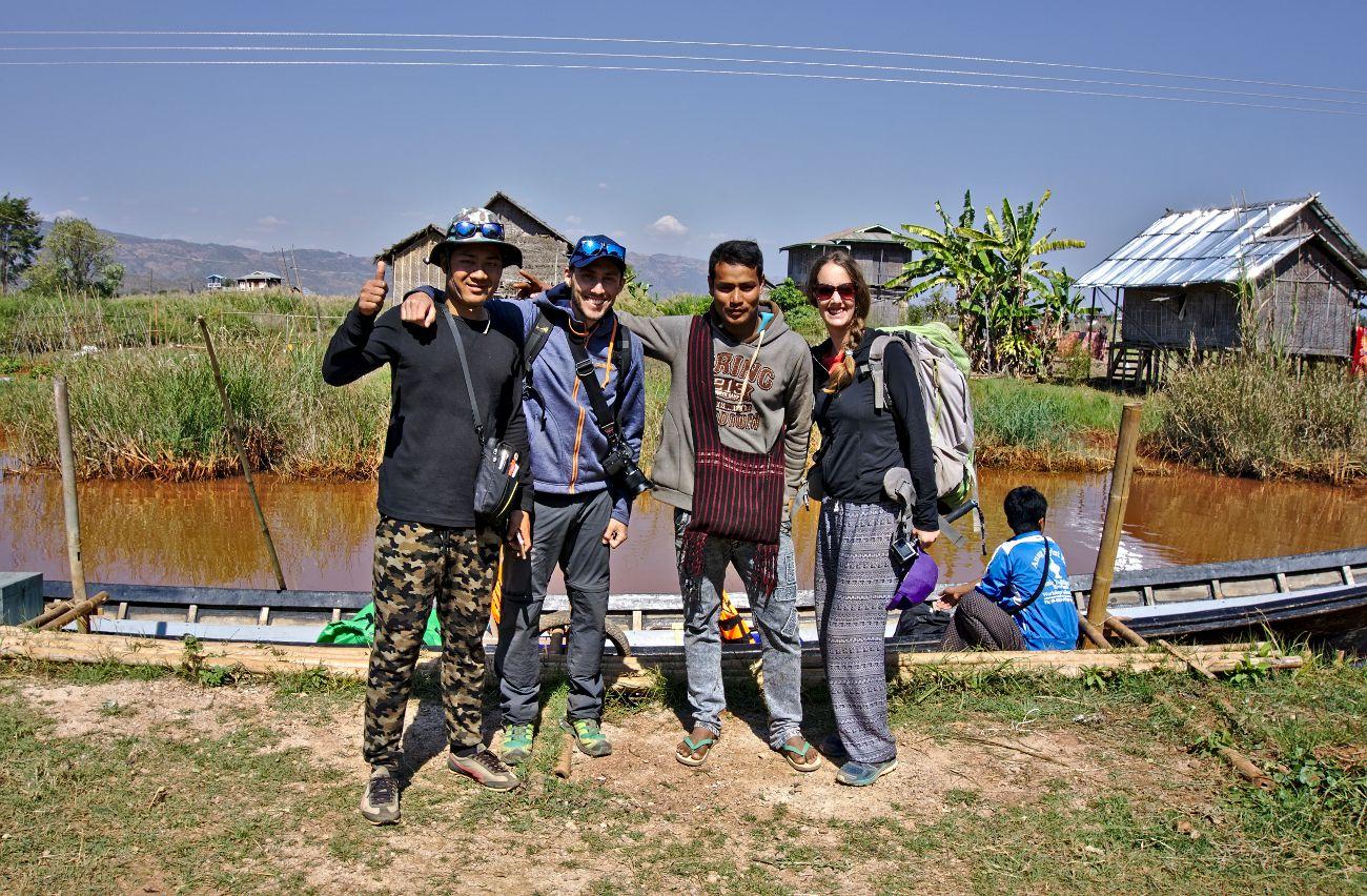 groupe de trekking inle