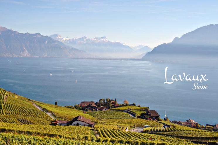 rando lac leman Lavaux