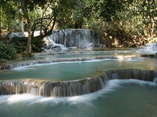 cascades de Kuang Si