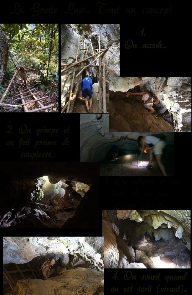 grotte de Lusi