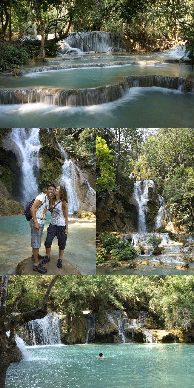 les cascades de Kuang Si