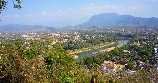 vue sur Luang Prabang