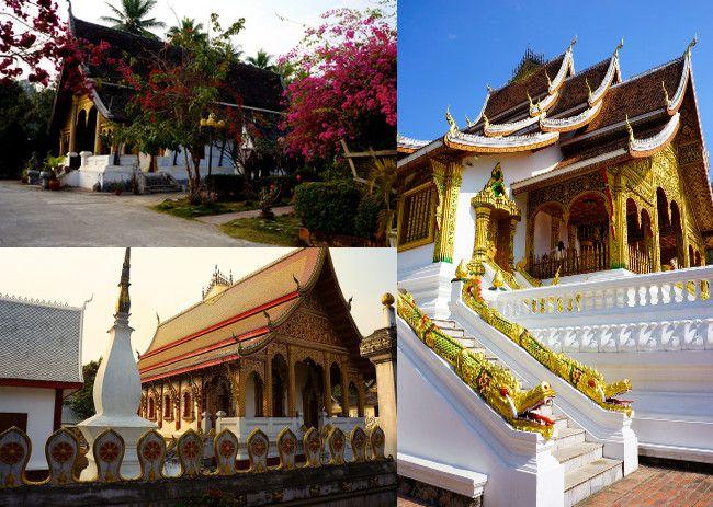 les temples de Luang Prabang