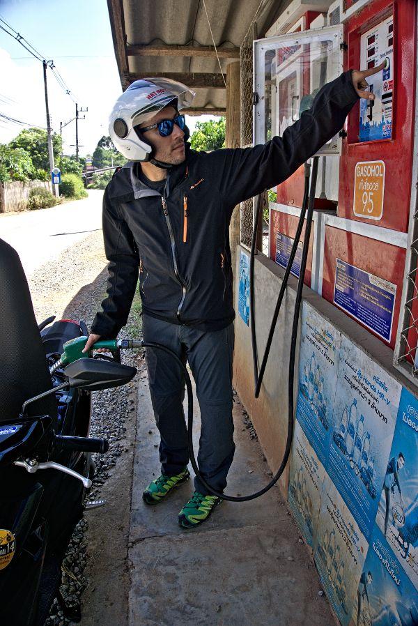 scooter en thailande, road trip