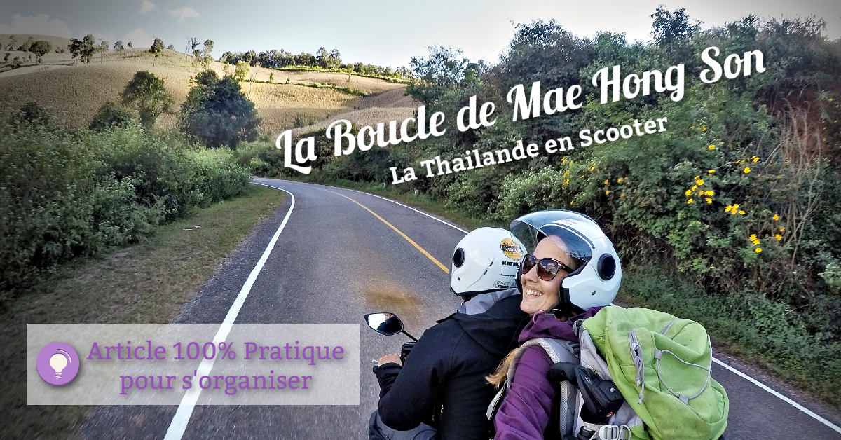 scooter en thailande, road trip