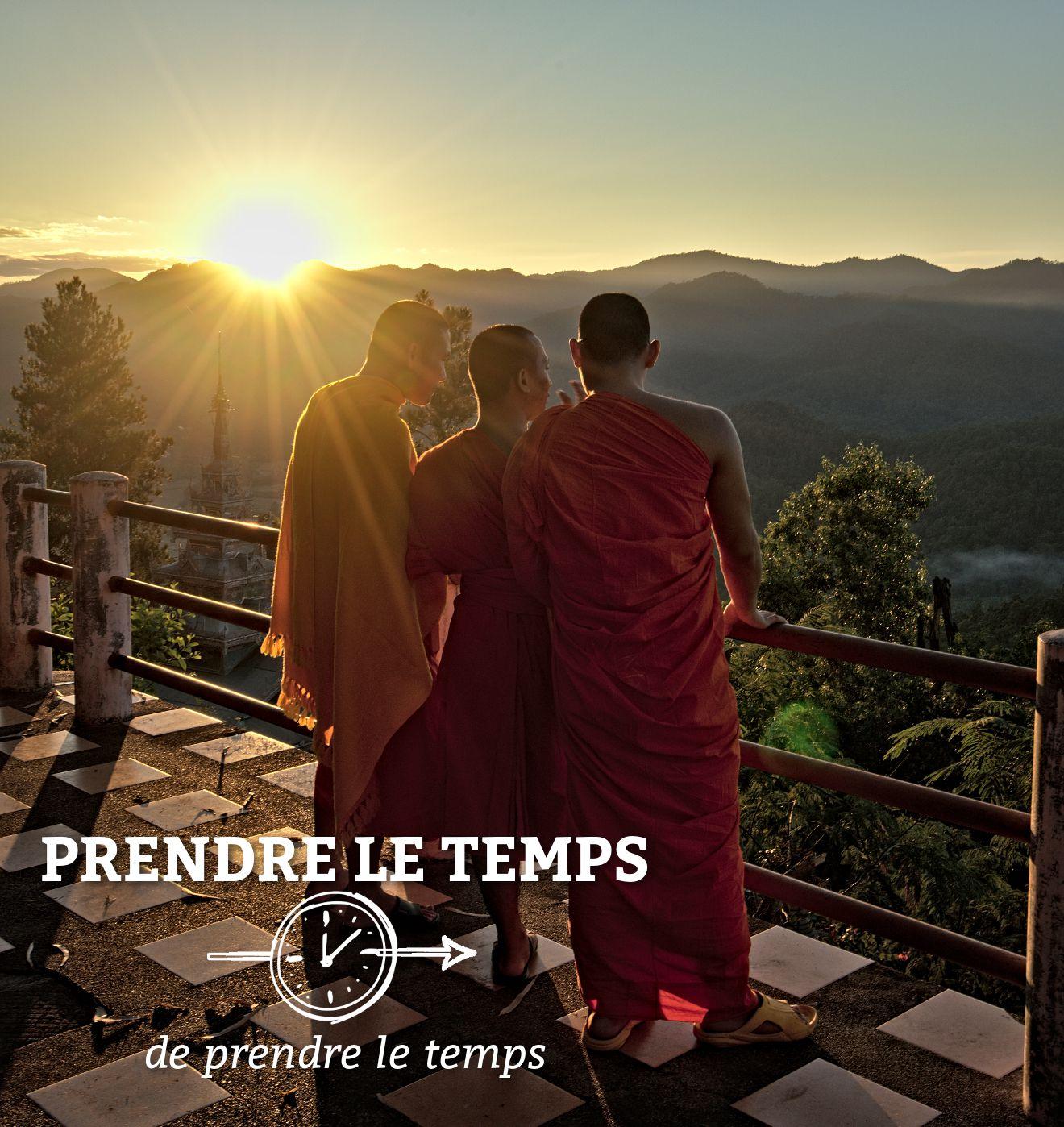 moine boudhiste en thailande