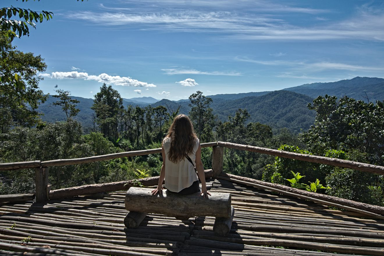 paysages du nord de la thailande