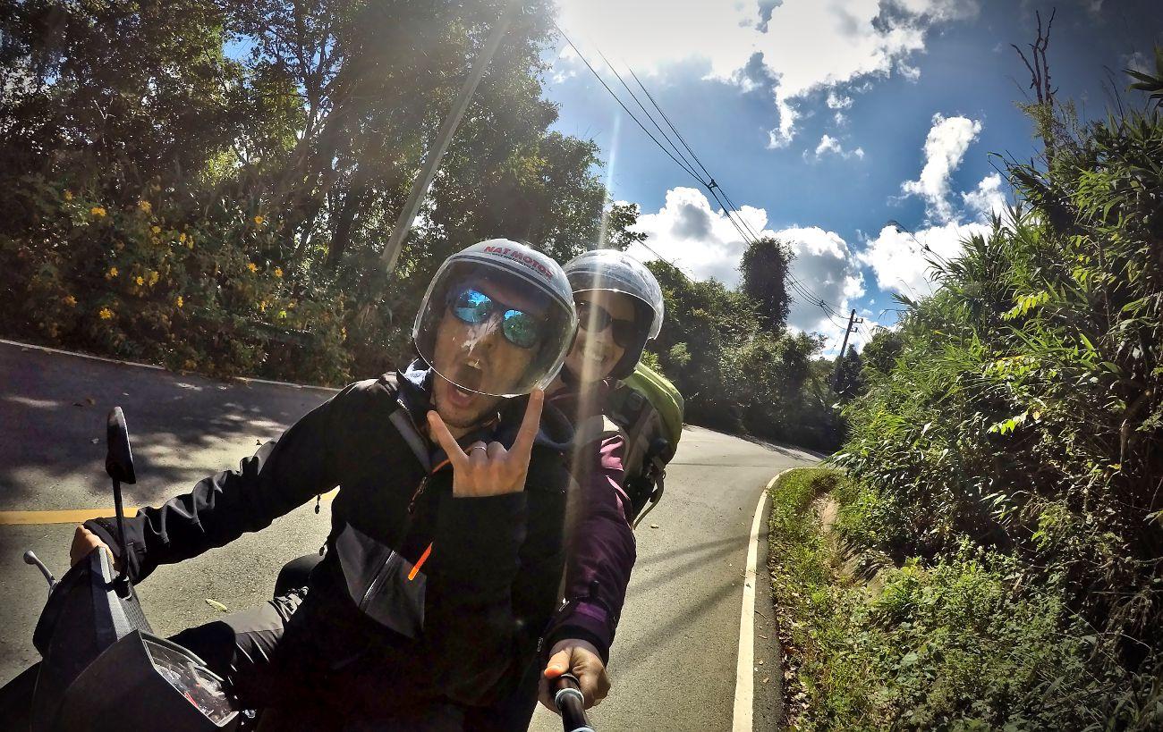 louer un scooter en Asie