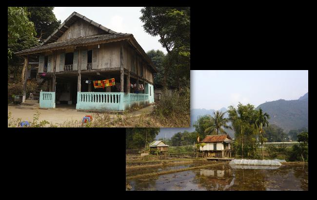 maisons de Mai Chau