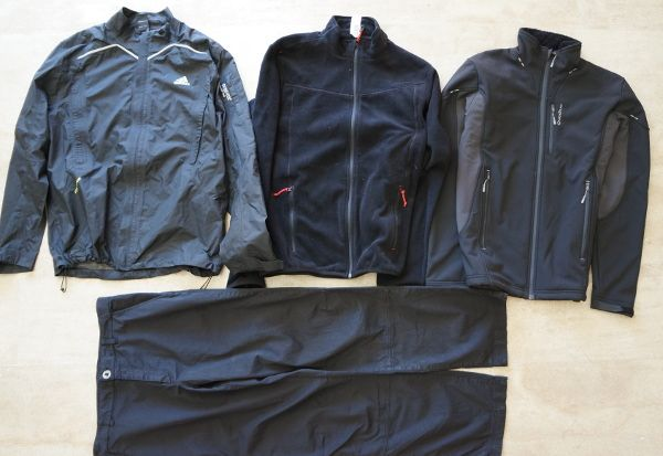 backpacking clothes