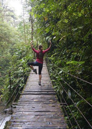 pont en bois, Mindo