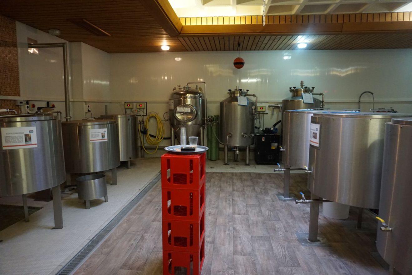 brasserie artisanale, cuves