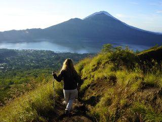 lever de soleil depuis le Batur