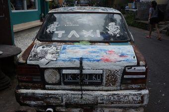 les taxis de Ubud