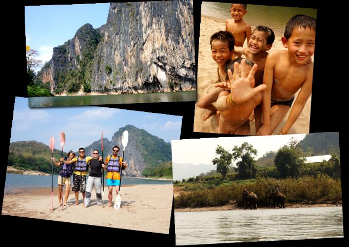3 jours kayak laos