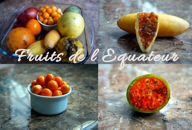 fruits equateur