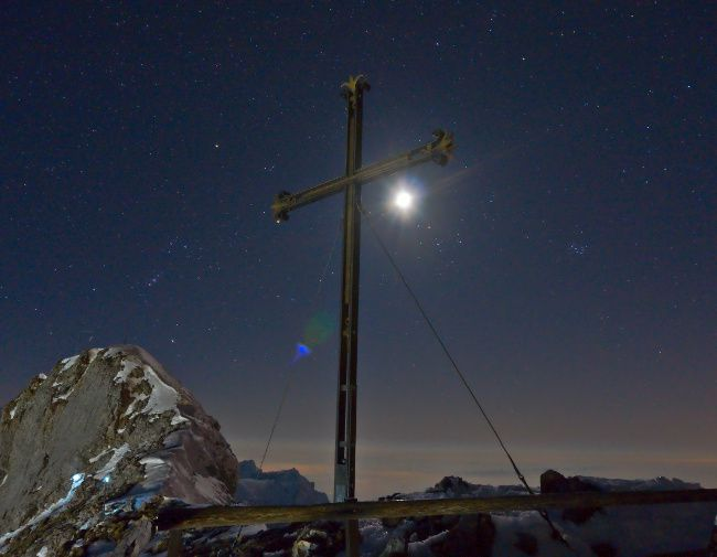 photo de nuit au pilatus