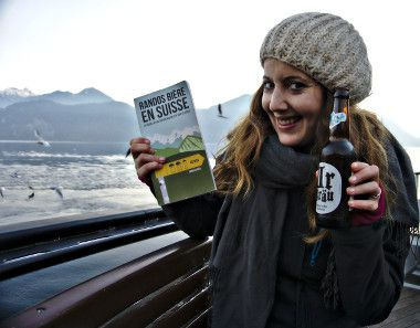 bière suisse sur le bateau
