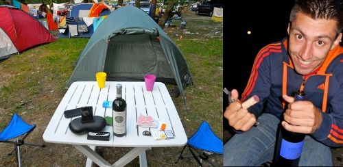 camping vin