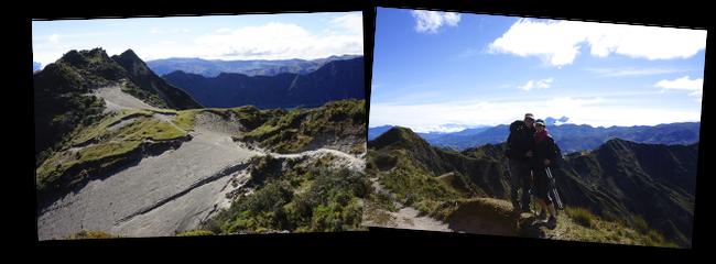 le cratère de Quilotoa