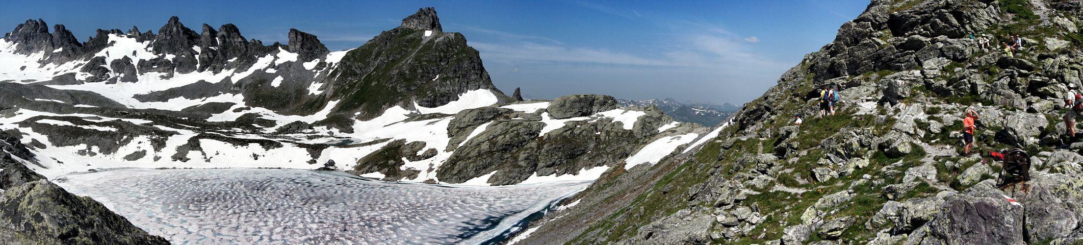 le Pizol et son glacier